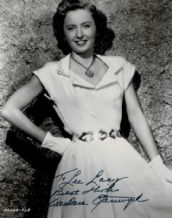 Barbara Stanwyck Autograph Signed Photo